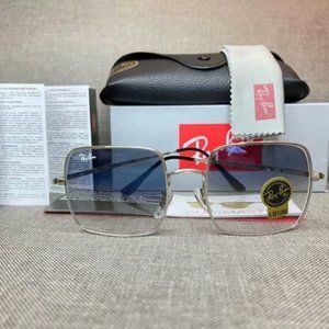 Ray-Ban 1971 Silver frame Square Sunglasse 54MM